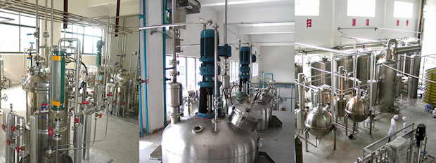 Extraction tanks
