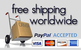 free shipping worldwide
